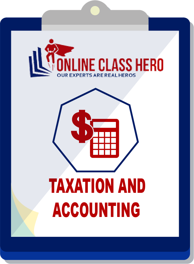 Taxation and Accounting